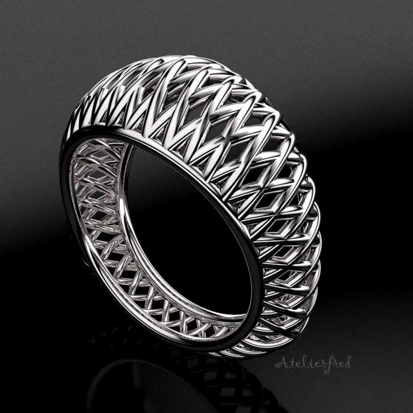 ring zilver JT